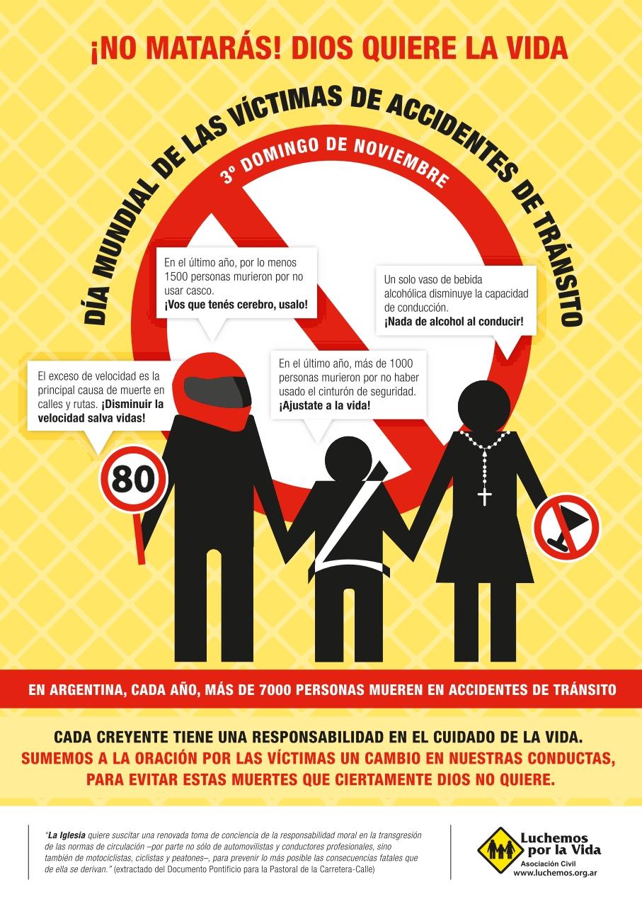 Resultado de imagen para dia mundial de las victimas de tránsito